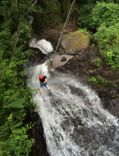 Canyoning-Waterfall-Rappelling